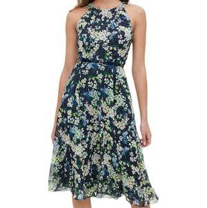 NWT Tommy Hilfiger Navy Floral Dress